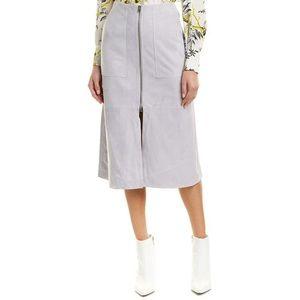 DVF Patch Pocket Suede skirt